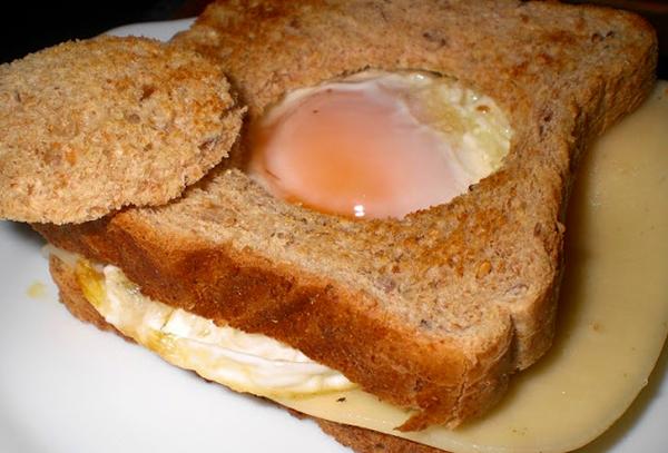 Sándwich de Huevo Frito - Cocina con los Rolo